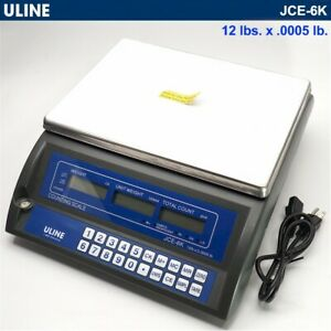 Uline Jce 6k h 1121 Counting Scale 12 Lbs X 0 0005 Lb please Read