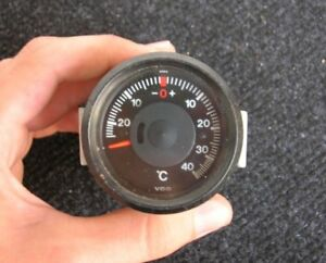 Vdo Thermometer Vintage Car Accessory Thermo