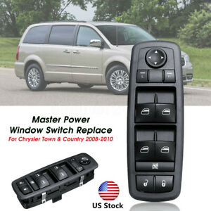 Window Switch Replacement For Chrysler Town country Master Power 2008 2010 Us