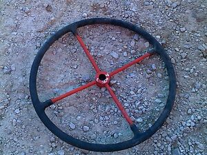 Allis Chalmers Wc Tractor Ac 4 Spoke 20 Nice Steering Wheel