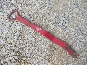 Farmall 350 Rowcrop Tractor Ih Fasthitch Draft Control Adjustment Lever