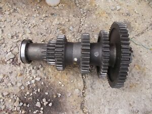 Farmall 560 Tractor Ih Ihc Bottom Lower Transmission Gear Gears Shaft
