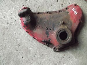 Farmall H Early Sh Tractor Ih Engine Motor Front Cover Panel Oil Filler Cap