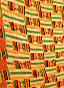 Kente Cloth Handwoven Asante Man S Cloth Ghana African Art