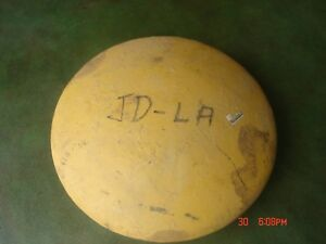 Vintage John Deere L Li La M Tractor Front Wheel Cover Cap Parts Lot Ar