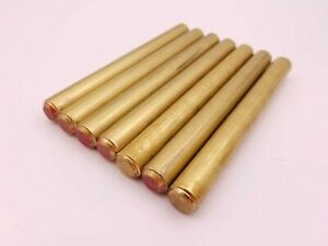 7 Pc 610 X 6 1 8 Brass Stock Cylinder Round Bar Punch Press Rod Solid 15 5mm