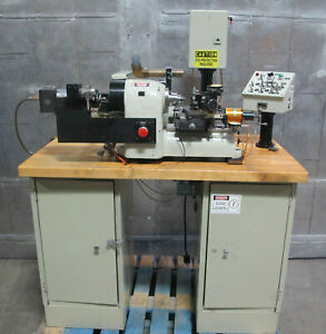 Hardinge Hsl 5c Lensmaster Ii Optical Lathe Opb Radius Turning Attachment Nice