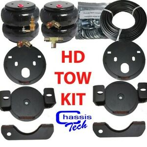 2001 10 Chevy 2500 Towing Assist Over Load Air Bag Suspension Lift Kit Not Hd