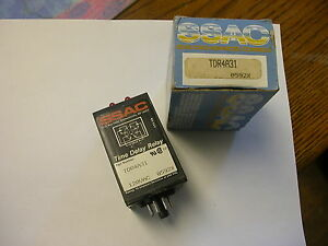 Ssac Time Delay Relay Tdr4a31 Repeat Cycle New In Box
