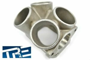 Treadstone T3 Turbo Merge Collector Adapter Investment Cast 304 Stainless Steel