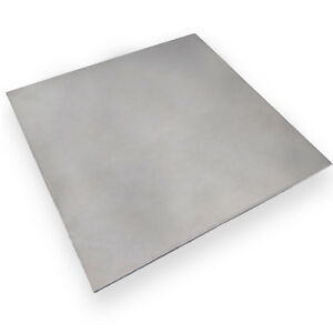 Us Stock 2mm X 5 X 5 304 Stainless Steel Fine Polished Plate Sheet