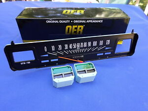New 1969 74 Chevy Nova W Console Gauges 120 Mph Speedometer Oer Parts 6496617