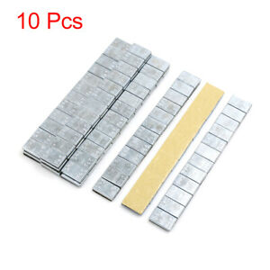 2 1oz Adhesive Back Wheel Balance Weights Strips For Motorcycle 140 X 19mm 10pcs