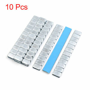 2 1oz Self Adhesive Wheel Balance Weights Strips For Motorcycle 140 X 19mm 10pcs