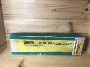 Vintage Victor Hard surfacing Alloy Rod Welding 1 8 Ac dc Electric In Box