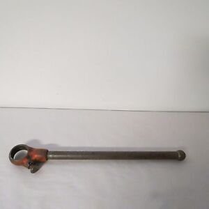 Ridgid 00r Ratchet Head With Handle 19 Inch Handle