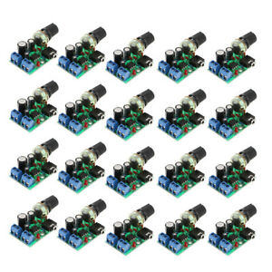 20x Mini Audio Power Amplifier Board Dc 3v 12v Module Adjustable Volume