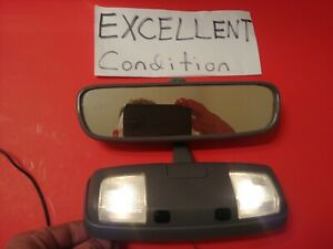 Oem 95 96 97 98 Toyota 4runner Rear View Mirror Overhead Dome Light Gray Excelnt