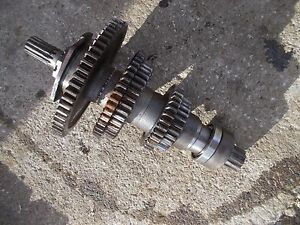 Farmall 300u 300 Utility Tractor Ih Transmission Lower Bottom Drive Gears Gear