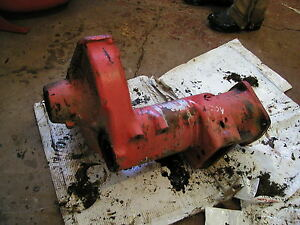 Allis Chalmers C Ca Tractor Ac Rear Axle Drop Houseing Cover Case