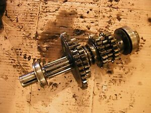 Farmall A Tractor Ih Main Drive Transmission Upper Top Drive Gears Gear Shaft