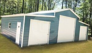 42 30 Steel Pole Barn free Delivery Installation