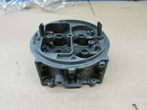 Holley Race Carb 750 Cfm Chokeless D p Main Body Center Section 4150 R5534