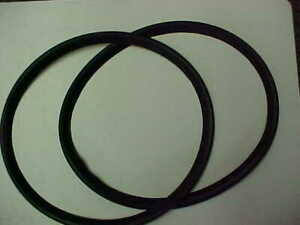 Volvo Pv 444 544 122 Amazon Rubber Gasket Set At Headlight Chrome Ring