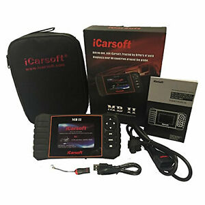 Icarsoft Mb Ii For Mercedes benz Diagnostic Code Reader Scan Tool Obd 2 Open Box