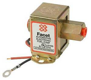New 12v Facet Solid State Fuel Pump All Carbureted Engines John Deere Ah65307