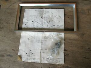 Nos 1969 76 Ford Accessory License Plate Frame Front Lincoln Mark Iii Iv T Bird
