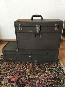 Vintage Kennedy Machinists Chest 520 Riser Middle Cabinet Tool Box
