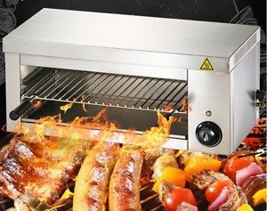 Brand New 24 Electric Cheese Melter salamander Broiler Bbq Grill Wall Mounted