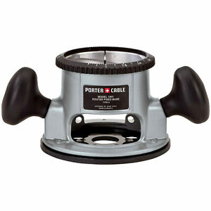 Porter Cable 1001 Router Base For 3 1 2 Diameter Router Motors