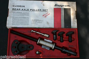 Snap On Tools Interchangeable Rear Axle Puller Set Cj2003a