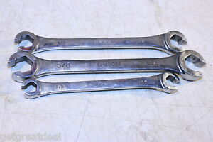 Mac Tools Sae Flare Nut Line Wrench Set 3 Pcs