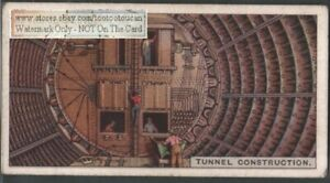 Shield Tunnel Construction Method And Equipment 90 Y o Ad Trade Card