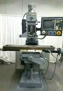 Supermax Cnc 3 Axis Milling Machine With Allen Bradley Iv Control With Tooling