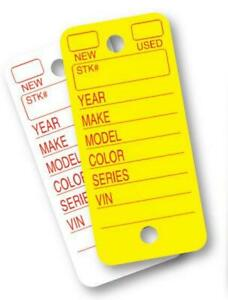 Poly Key Tags By Versa Tag Automotive Dealers New Used Choose Your Color