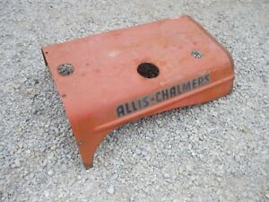 Allis Chalmers Wd Wd45 Wc Wf Tractor Nice Original Engine Motor Hood Cover