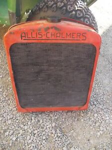 Unstyled Allis Chalmers Wc Tractor Original Embossed Radiator Assembly W cap