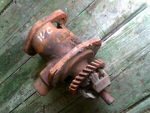 Allis Chalmers Wc Tractor Ac Engine Motor Distributor Drive Assembly