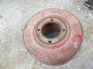 Farmall H Sh 300 350 460 Tractor Original Ih Paper Belt Pulley Real Nice