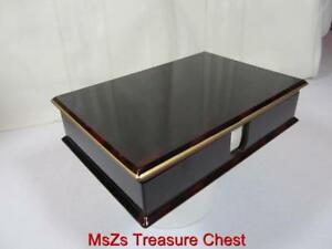 Vintage Otagiri limited Edition Lacquerware Note Box W Paper Never Used