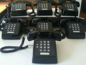 One Avaya At t Lucent Partner 2500 mmgn 003 Black Analog Phone excel condition