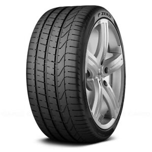 Pirelli Set Of 4 Tires 235 35r19 Y P Zero Summer Performance