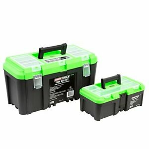 Tool Box Set Includes 19 Tool Box 12 5 Tool Box With Removable Tool Tray