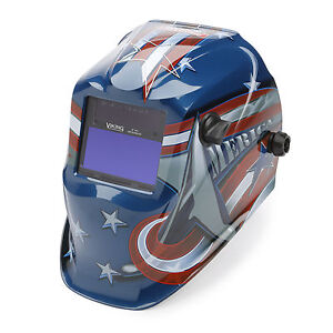 Lincoln Viking All American 1840 Welding Helmet K3173 3