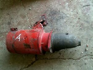 Farmall A B Bn Tractor Original Ih Ihc Good Working 6v Starter