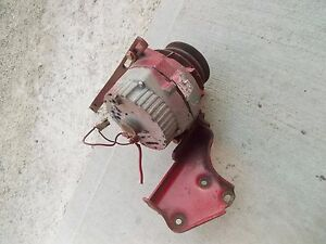 Farmall 560 460 Ih Tractor 12v Alternator Double Belt Drive Pulley